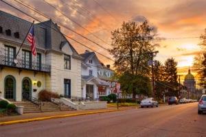 Neighborhood in Charleston, West Virginia