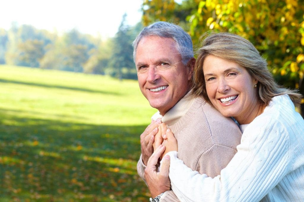 Loving Older Couple Stock Photo