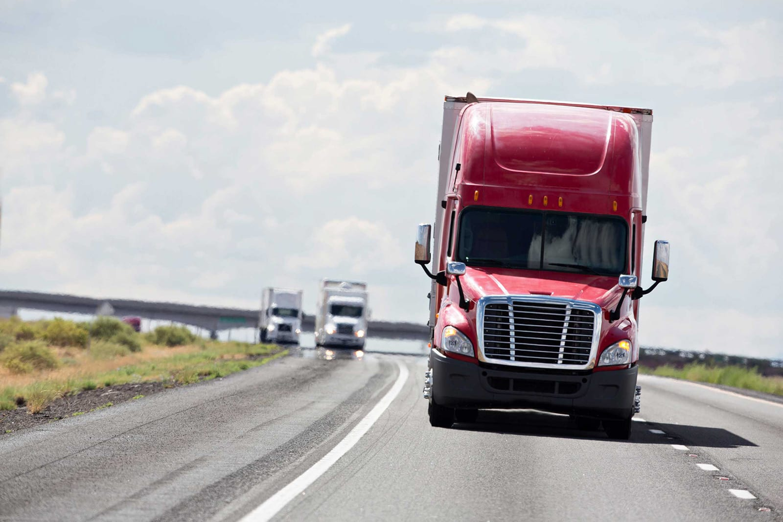 Semi-Trucks Stock Photo