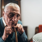 a nursing home resident being neglected by staff