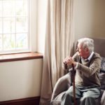 a senior man being neglected in a nursing home in Charleston, WV